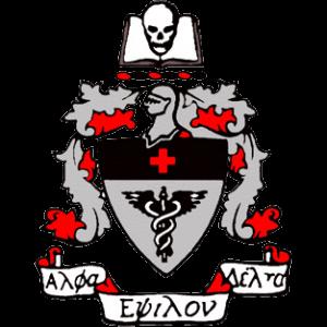Alpha Epsilon Delta Crest