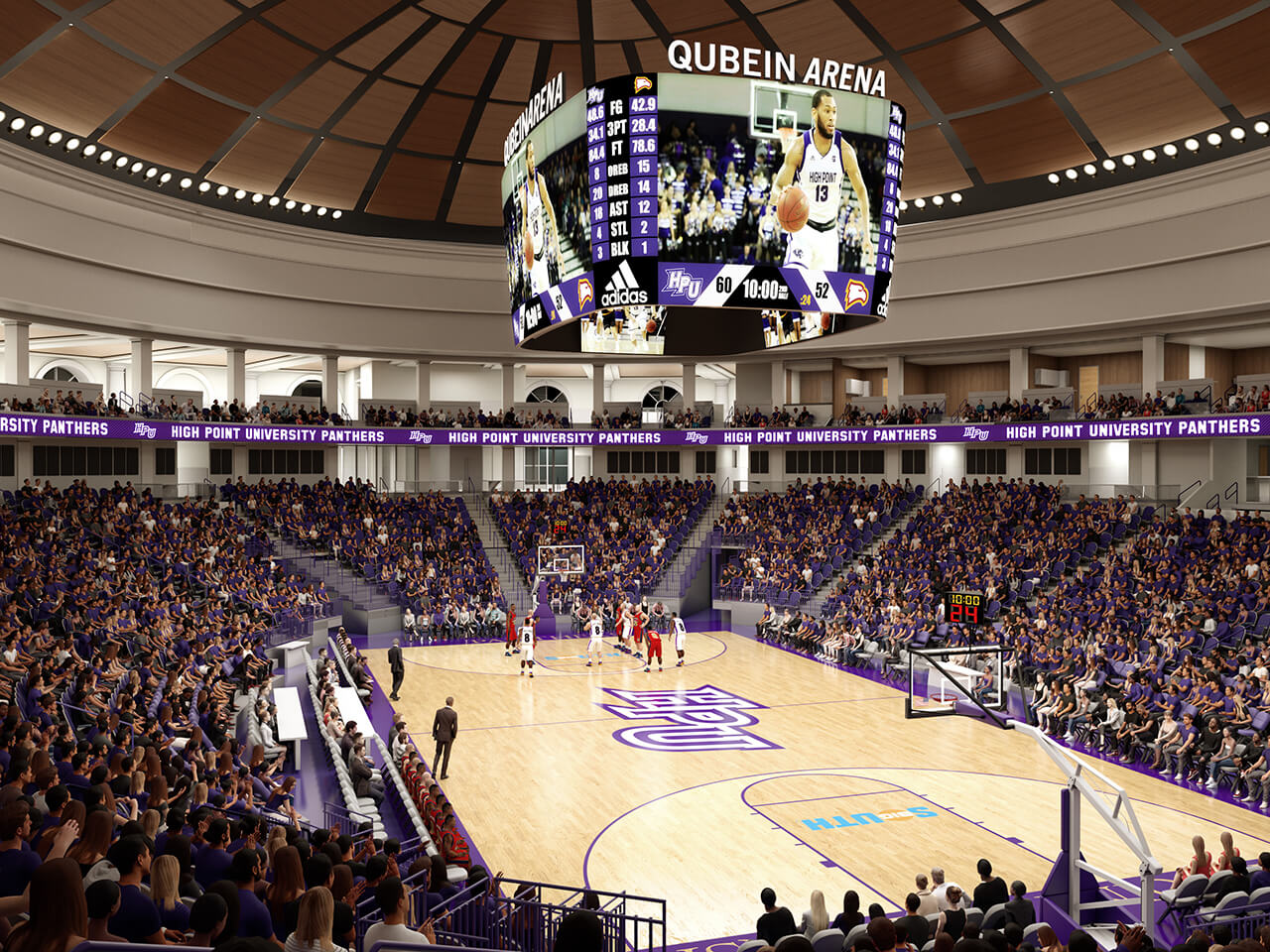 About The Qubein Arena And Conference Center Nido And