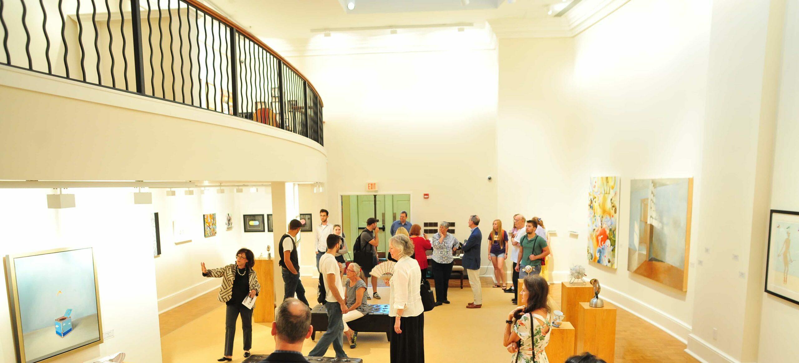 Welcome to HPUs Darrell E. Sechrest Art Gallery