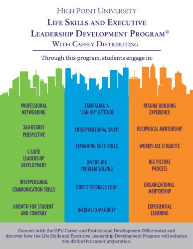 Life Skills And Executive Leadership Program High Point University