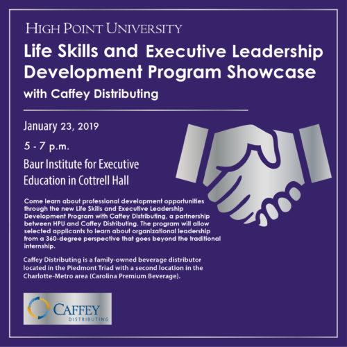Caffey Distributing Life Skills Executive Leadership Development
