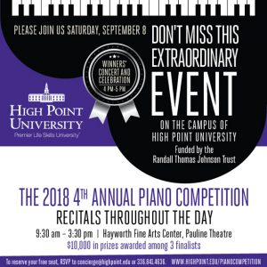 Piano Competition Information