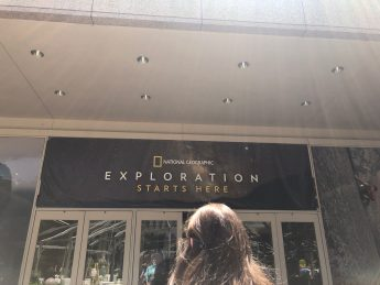 Our visit to National Geographic