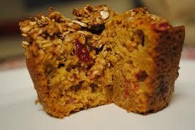 [RECIPE] Cranberry Pumpkin Muffins–October 2014
