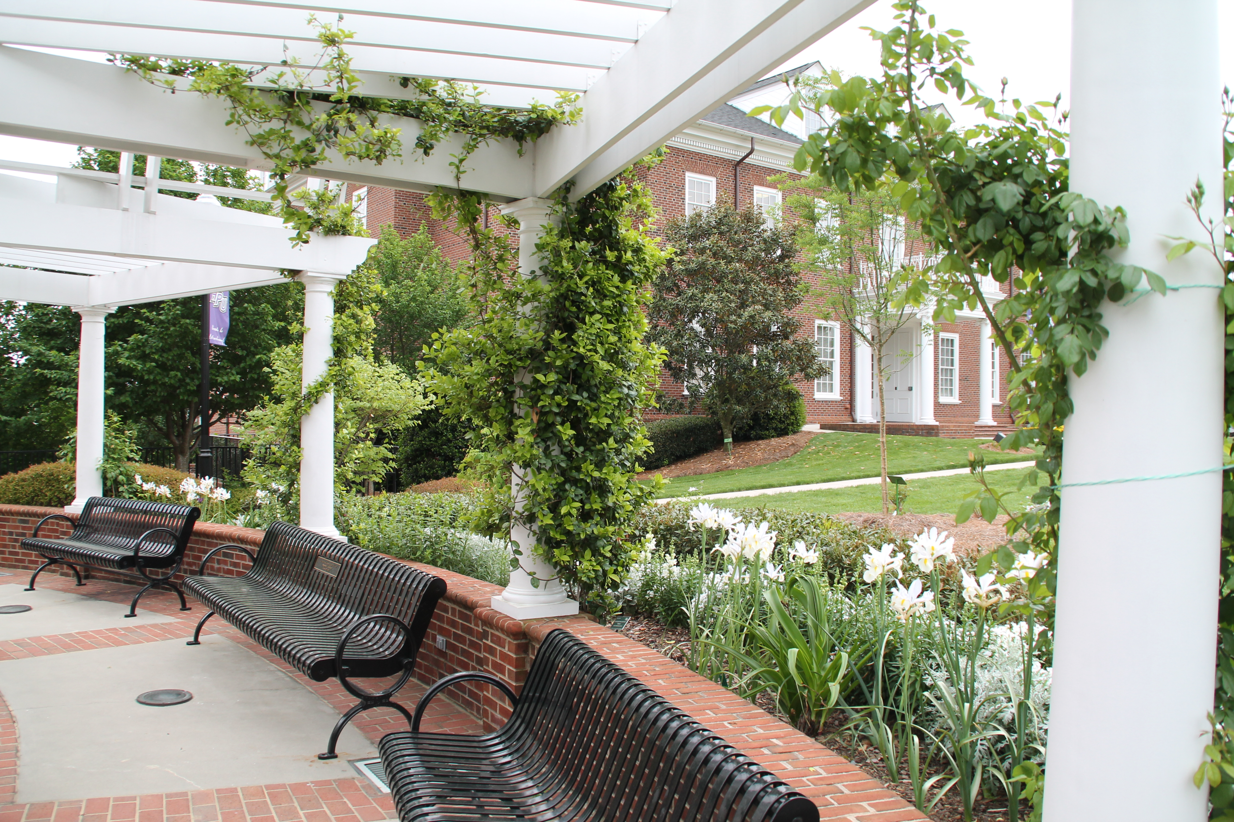 The Chapel And Meditation Garden High Point University High
