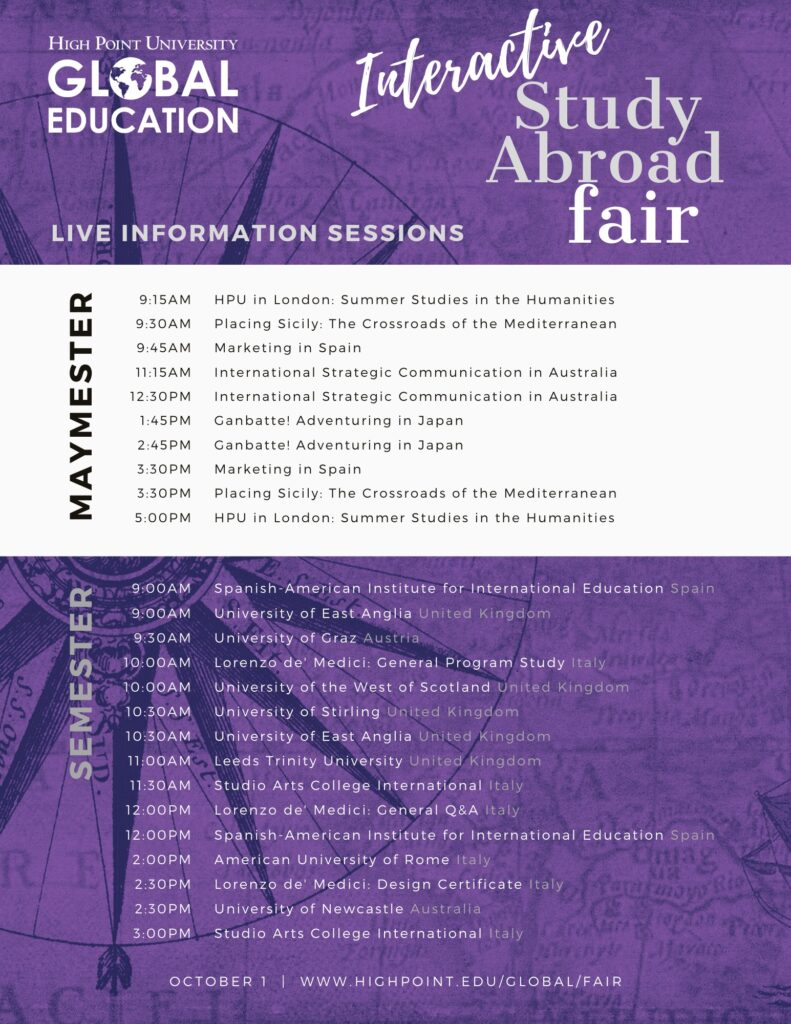 Fair Information Sessions