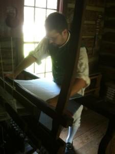 AJ weaving
