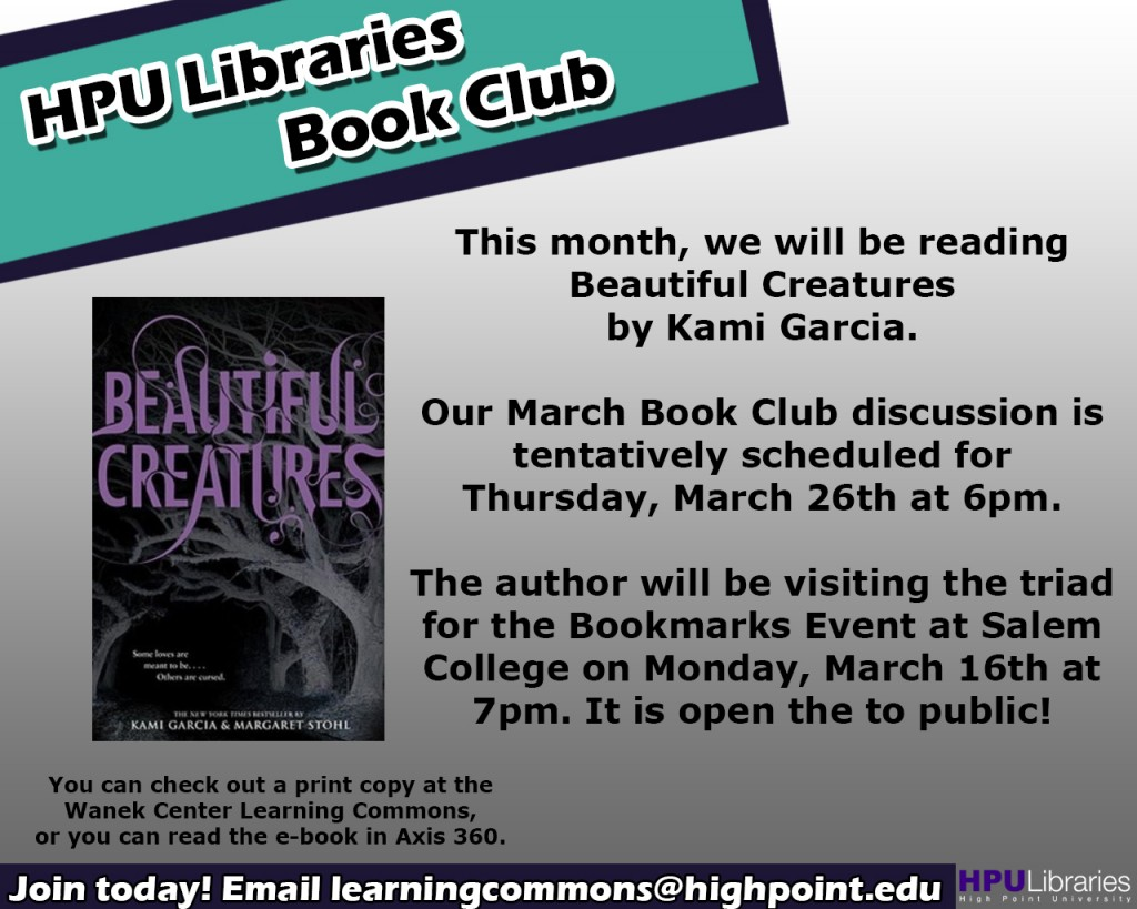 Book Club Concierge March 2015