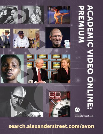 New Resource: Academic Video Online