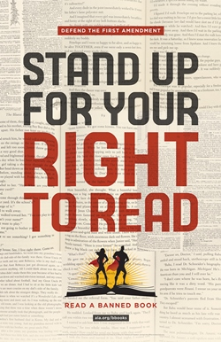 On Display: Stand Up For Your Right to Read!