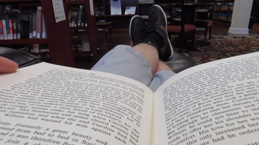 Break area at Smith Library; captured by Hunter Fleming