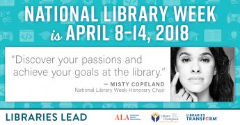 HPU Libraries Lead: Celebrate National Library Week 2018