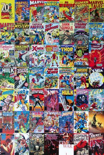 On Display: Stan Lee / Marvel Comics