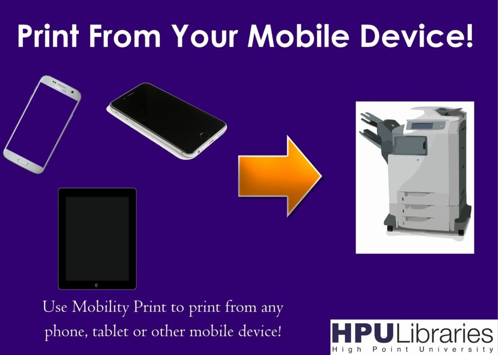 Print From Your Mobile Device!