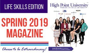HIGH POINT UNIVERSITY MAGAZINE SPRING 2019
