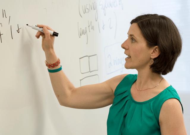 teacher mathematics white board