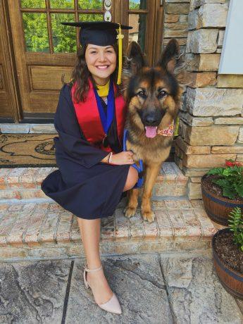 Class of 2020 Outcomes: Annie Rexha Seizes a Future in Science