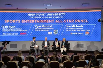High Point University All-Star Panel Provides Platform for Sports Industry Leaders to Impart Wisdom