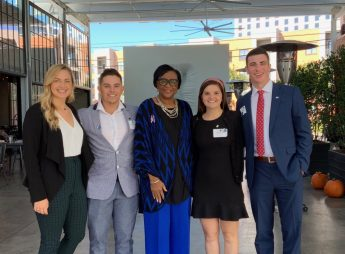 HPU Students Shadow Dallas Mavericks CEO Cynt Marshall During Externship