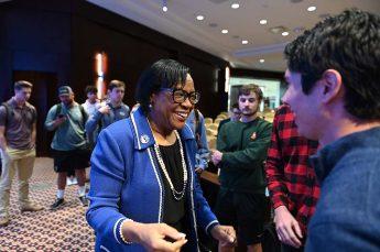HPU Students to Shadow Cynt Marshall During Dallas Mavericks Externship