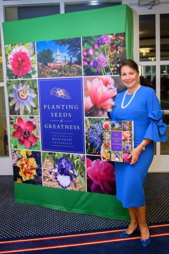 HPU First Lady Mariana Qubein Releases 'Planting Seeds of Greatness' Book