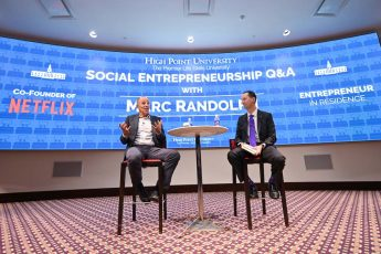 Netflix Co-Founder Marc Randolph Returns to Mentor High Point University Students