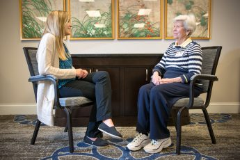 Pharmacy Students Practice Patient-Centered Care at Local Retirement Communities