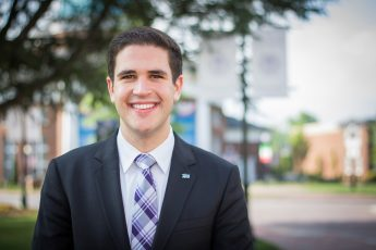 Class of 2017 Profile: James Ensor Forges a Career in Finance