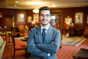 Class of 2018 Outcomes: Alan Vasquez Soto Pursues PhD at Chapel Hill