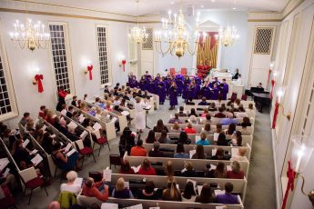 HPU Embraces the Joy of Christmas at Lessons and Carols