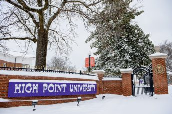 Campus Prepared for Blanket of Snow