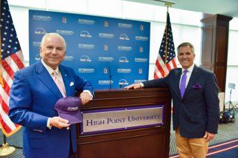 HPU President Nido Qubein Named 2018-19 Wyndham Championship Honorary Chairman