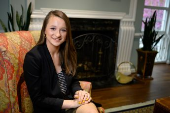 April Extraordinary Leader: A Future Investigator with a 'Grateful Heart'