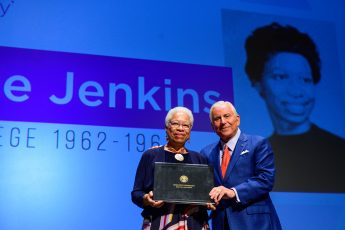 First African-American Student to Attend High Point College Receives Honorary Degree