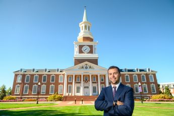 October Extraordinary Leader: A Campus Leader Finds Himself