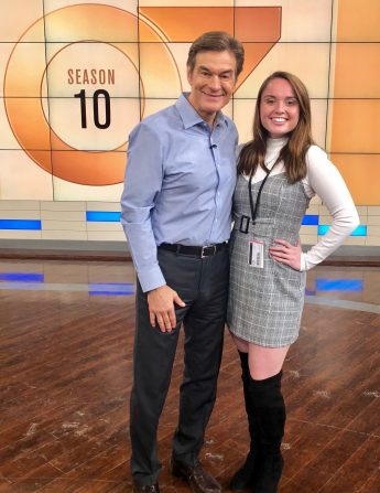 Internship Profile: Haley Hartje Interns with Dr. Oz