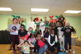 HPU Family Serves Community During the Holiday Season