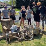 2 HPU Alpha Phi Omega Greenway Cleanup