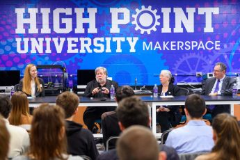 Apple Co-Founder Steve Wozniak Shares Insights on Leadership with HPU Students
