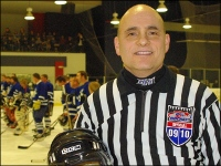 HPU Director of Security and Transportation Referees Charity Ice Hockey Game