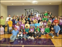 HPU Students, Resident Assistants Host Afternoon of Fun for Big Brothers Big Sisters of High Point