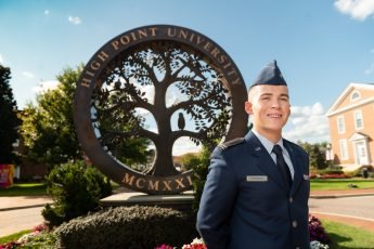 September Extraordinary Leader: The Cadet in Command
