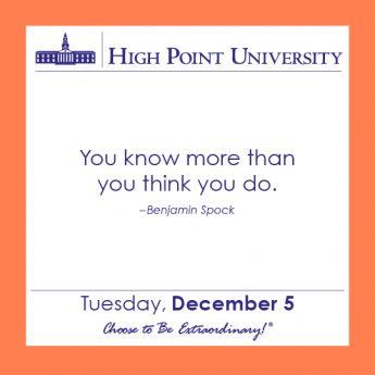 [CALENDAR] December 5, 2017