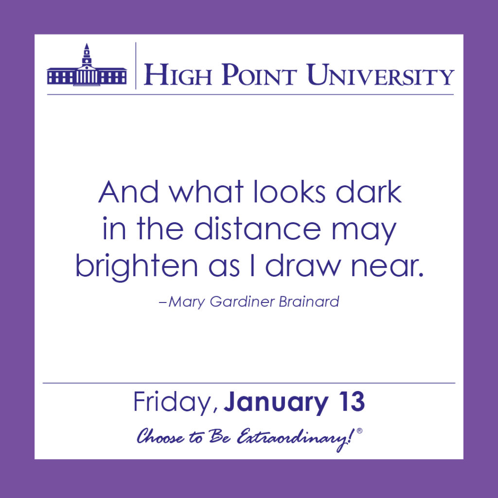 calendar january 13 2017 high point university high point nc