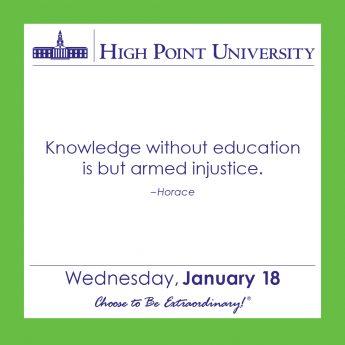 [CALENDAR] January 18, 2017
