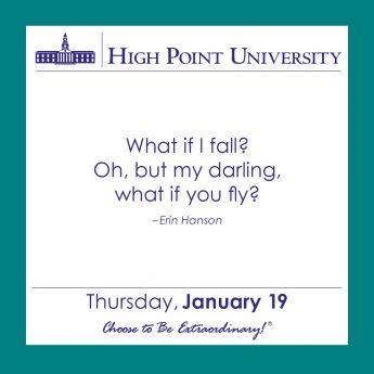 [CALENDAR] January 19, 2017