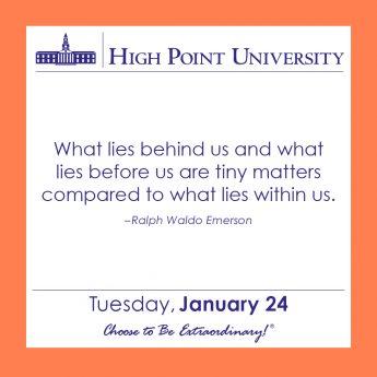 [CALENDAR] January 24, 2017
