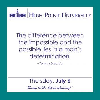 [CALENDAR] JULY 6, 2017