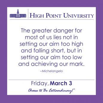 [CALENDAR] March 3, 2017