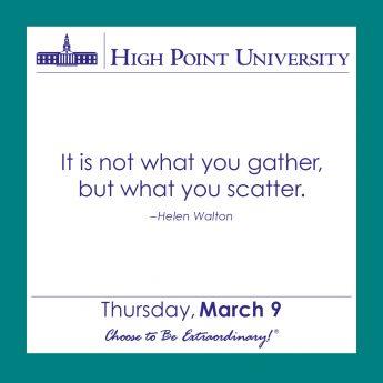 [CALENDAR] March 9, 2017